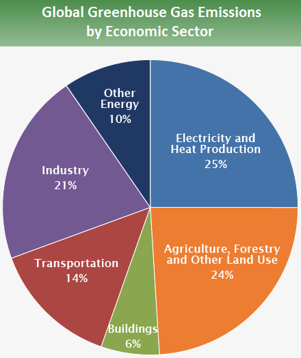 greenhouse gas emissions and sustainable habits