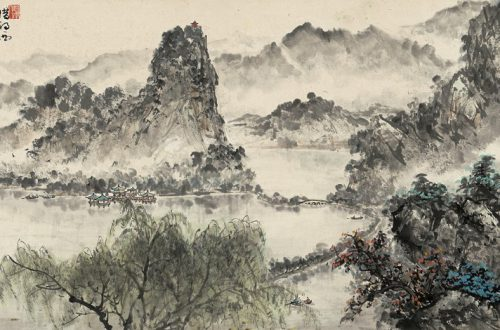 Cai Jingxing: West Lake (1924) [1]