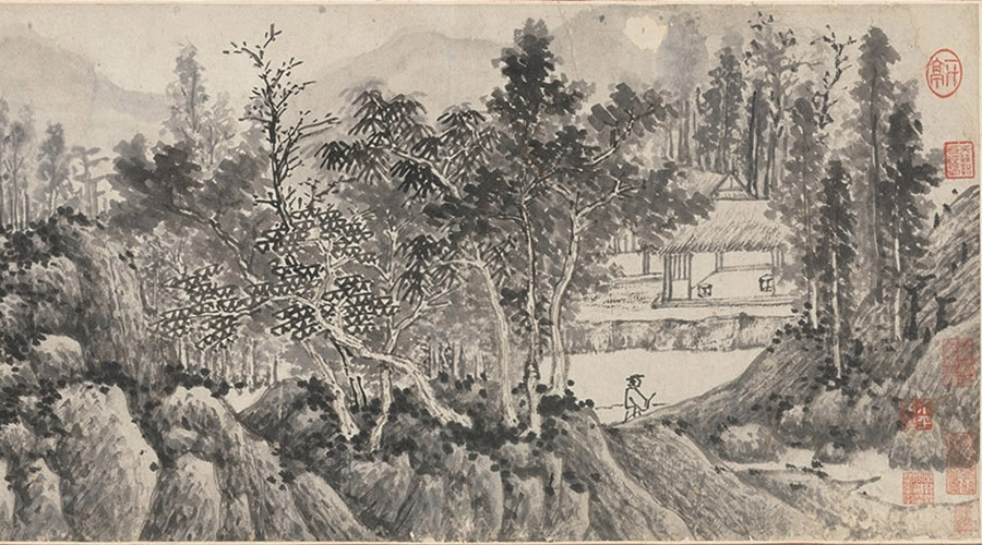 ink wash painint in the ming dynasty to catch the equality of all species