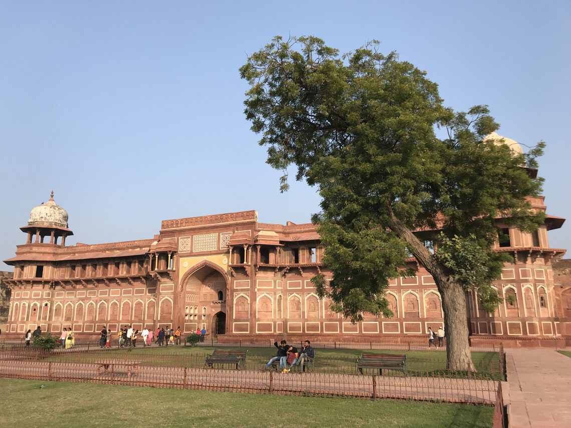 Red fort in Agra India one of the three world herritage sites in Agra together with the Taj Mahal and Fathepur Sikri