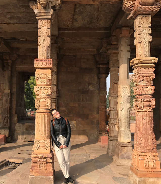 An ancient town which is part of the Qutub Minar comples