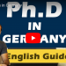 Phd position in Germany funding eligibility criteria scholarship duration job afterwards