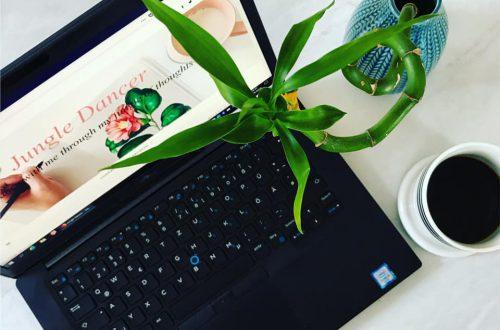 having a blog jungle dancer