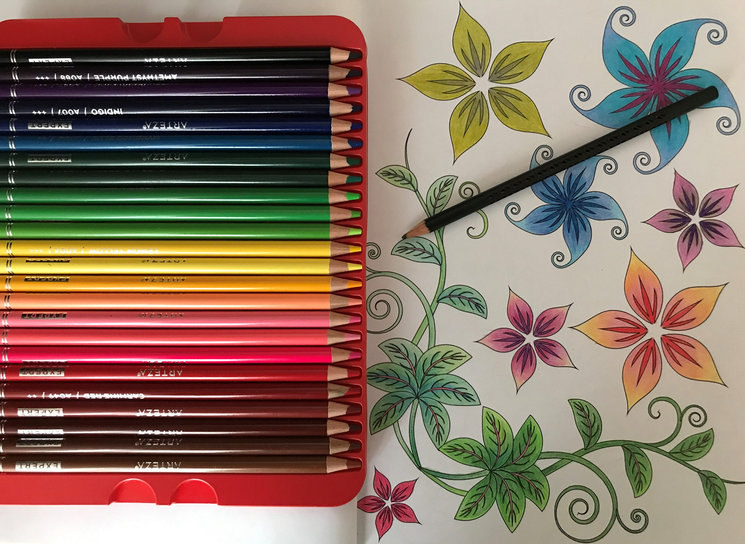 coloring book as a creative way to find joy and peace during the coronavirus quarantine