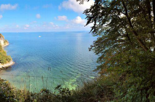 panoramic vie of national park jasmund summer on rugen germany