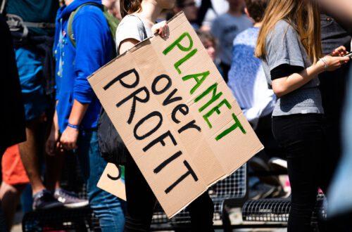 planet over profit climate change