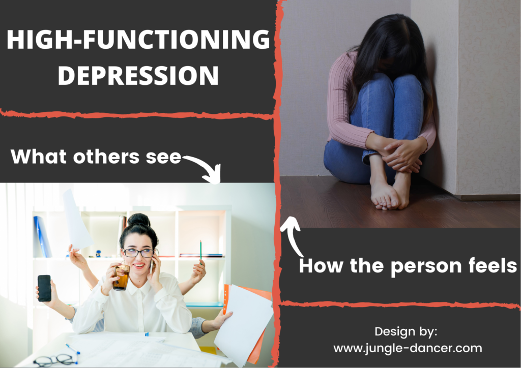 how high-functioning depression looks like