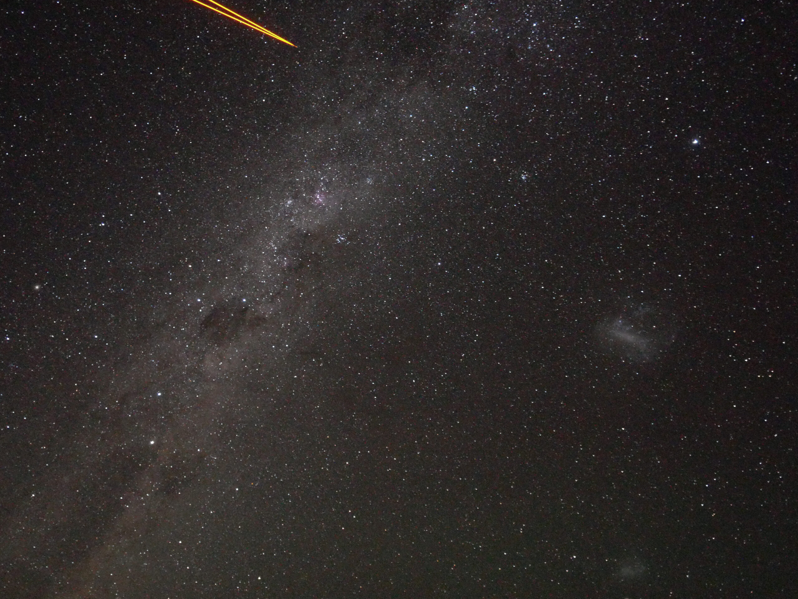 Observing at the paranal observatory in Chile